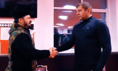 Александр Емельяненко спорит на автомобиль с главой бойцовского клуба «Ахмат», что год не будет пить (видео)