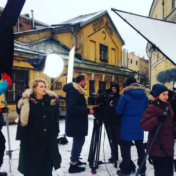 Рената Литвинова и Матвей Лыков в фильме Спасти Иосифа: первый кадры со съемок, фото
