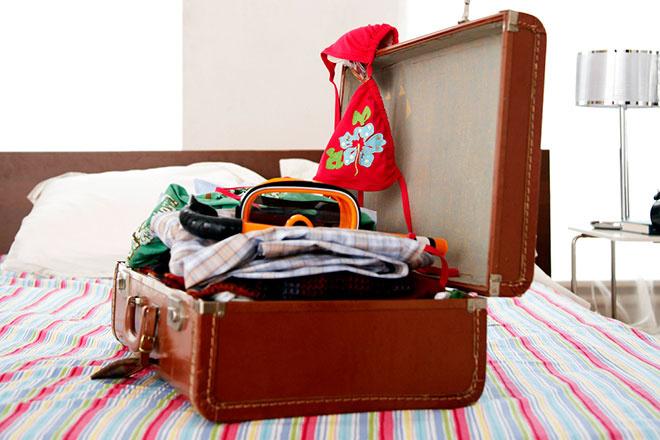 чемодан собрать