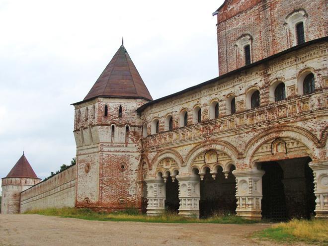 Ярославль. Борисоглебский монастырь