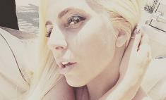 Снова разделась: Леди Гага лечится в сауне