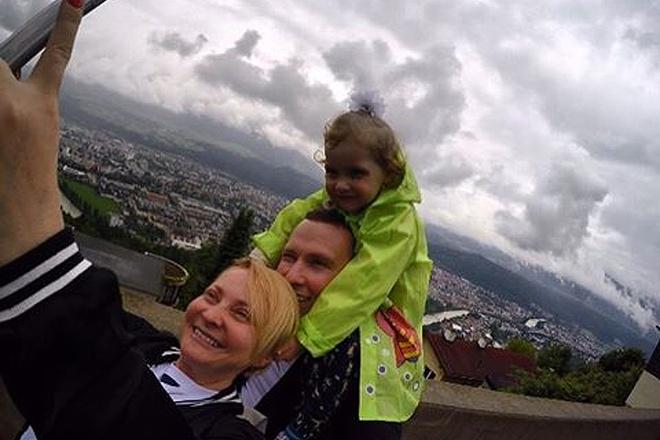 Светлана Пермякова на отдыхе, фото