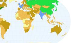 карта количество ученых инженеров странах мира