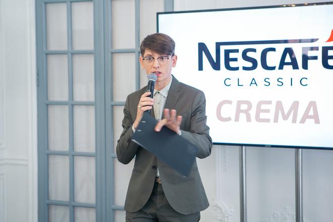 Владислав Лисовец на презентации NESCAFÉ Classic Crema