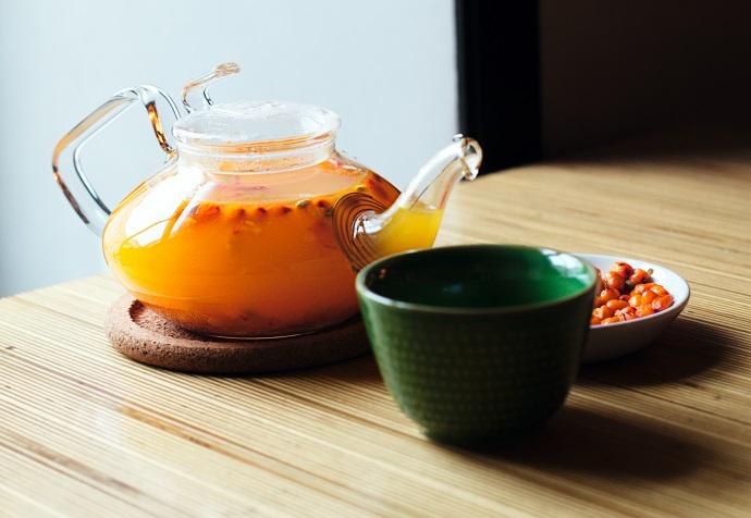 Облепихово-имбирный чай