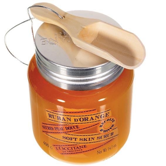 Апельсиновый скраб для тела Ruban D'Orange, L'Occitane.
