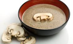 Нежность на обед: готовим суп-пюре из шампиньонов со сливками