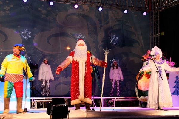 Новый год 2015 в Ульяновске праздничная афиша