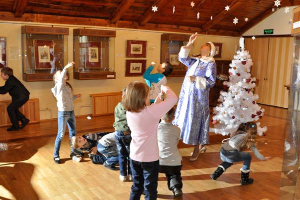Обзор музейных новогодних программ для детей