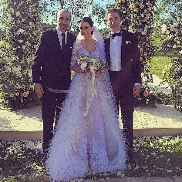 Евгений Папунаишвили с Юлией и Николаем Крутыми фото
