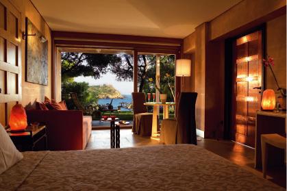 Интерьер виллы в отеле Cape Sounio.