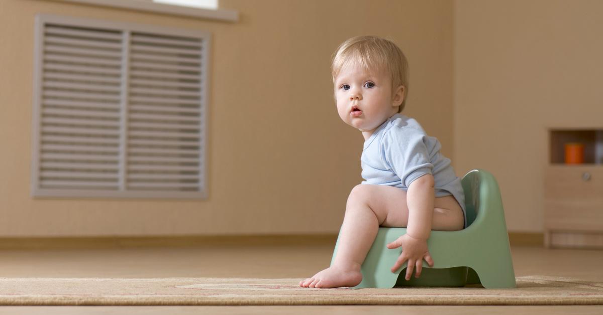 Садимся на горшок: 10 несложных правил для малыша - Woman's Day