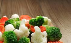 Варим замороженные овощи правильно!