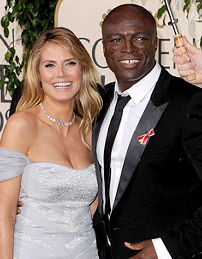 Хайди Клум (Heidi Klum) и Сил (Seal)