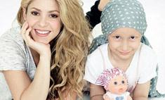 Шакира создала куклу, чтобы помочь онкобольным детям