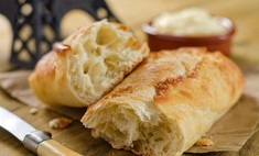 Французский хлеб: классический рецепт