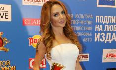 МакSим пришла на «Золотой граммофон» в российском триколоре