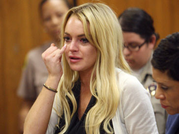 Линсей Лохан (Lindsay Lohan) опять попала в неприятную историю
