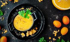 Заварной сырный соус с апельсинами