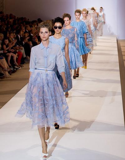 Неделя моды в Лондоне: Temperley, весна-лето 2013