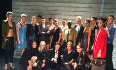 Кэти Холмс представила коллекцию на Неделе моды в Нью-Йорке