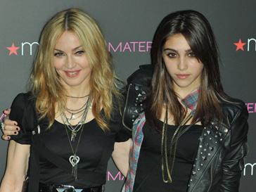 Мадонна (Madonna) и ее дочь Лурдес