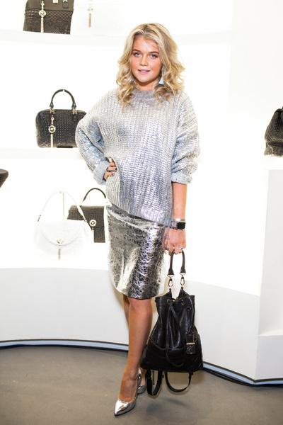 Селебрити на презентации осенней коллекции Versace   галерея [1] фото [6]