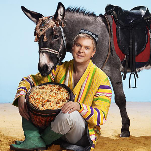 Сергей Светлаков, ресторан Eshak, фото