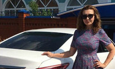 Ирина Агибалова купила новую машину