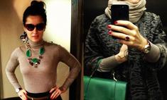 Зимняя мода: что Тина Канделаки носит в морозы?