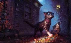 художник недели коты ведьмы ведьмаки анджея челмински