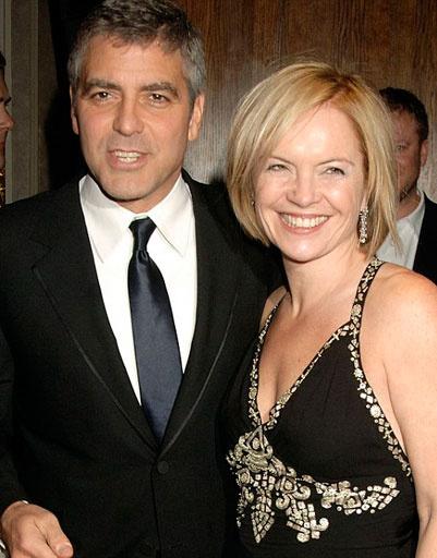 Джордж Клуни (George Clooney) и Мариэлла Фрострап (Mariella Frostrup)