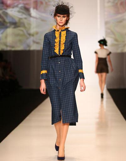 Показ коллекции Marina Makaron осень-зима 2013/14 на Mercedes-Benz Fashion Week Russia