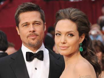 Анджелина Джоли (Angelina Jolie) и Брэд Питт (Brad Pitt) поженились