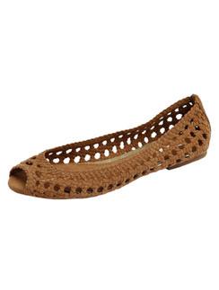 Плетеные туфли Pull&Bear