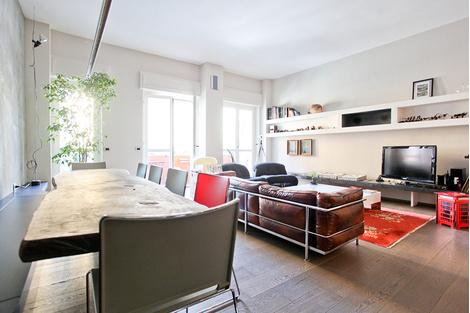 Топ-10: дизайнерские квартиры в Милане | галерея [2] фото [4]