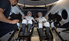 SpaceX Crew Dragon вернулся на Землю с астронавтами. Все живы-здоровы