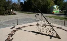 Солнечные часы для Волгограда мастерили два года