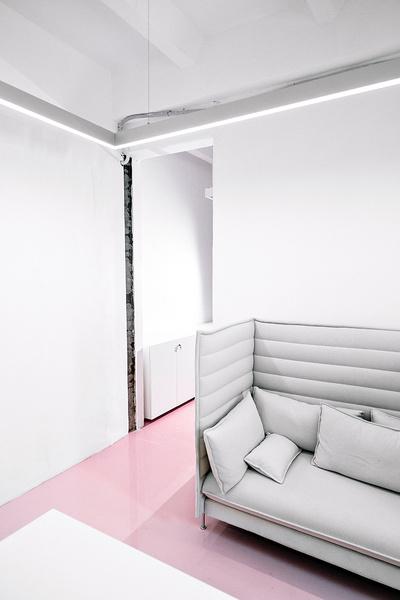 Жизнерадостный интерьер офиса: проект в деталях | галерея [1] фото [7]