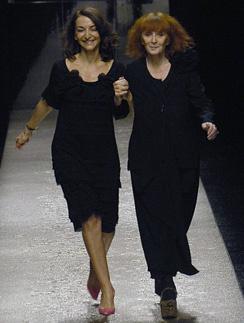 Соня Рикель передала бразды правления бренда своей дочери Натали