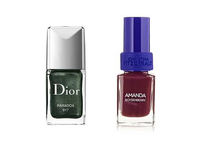 лаки для ногтей Dior, Christina Fitzgerald