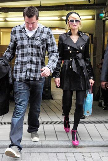 Пэрис Хилтон и Дуг в Токио