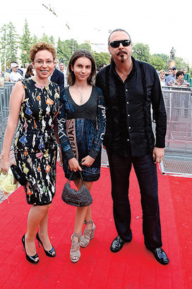 Юрий Грымов с женой, фото