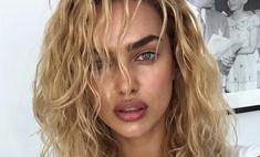 Ирина Шейк покрасилась в блондинку