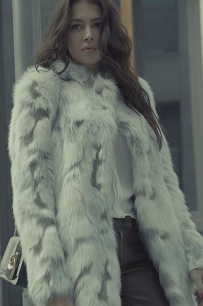София Никитчук в рекламной кампании Patrizia Pepe осень-зима 2015
