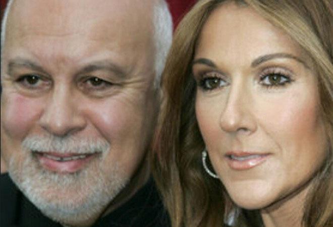 Селин Дион с мужем, фото