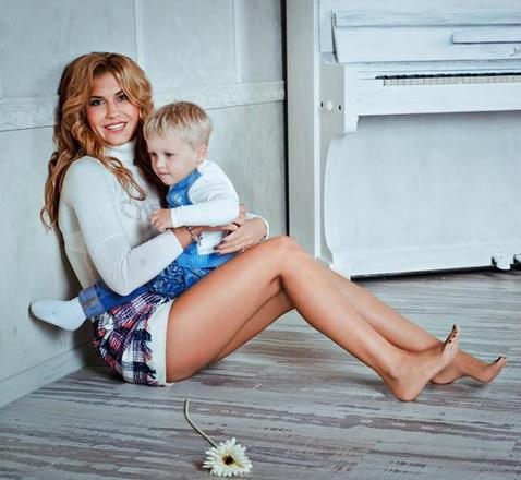 Евгения Левандовская, семья