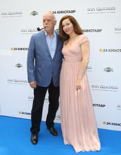 Станислав Говорухин и Екатерина Гусева