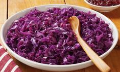 Рецепт витаминного салата из красной капусты