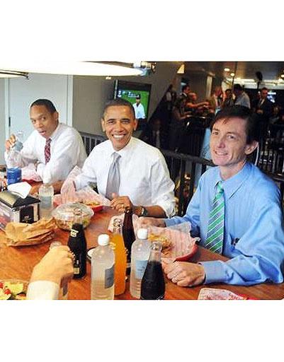 Барак Обама (Barack Obama) и его советники